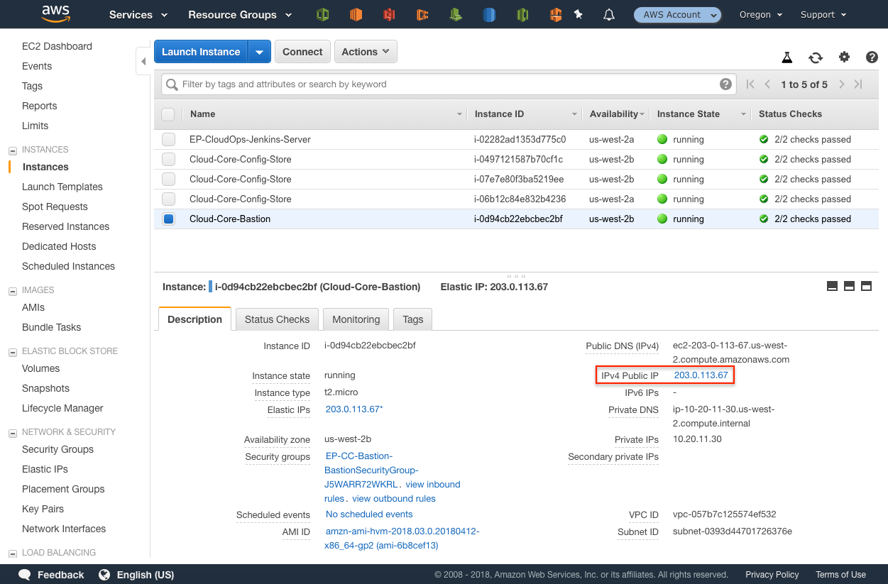 Troubleshooting Deployment of Elastic Path Commerce · CloudOps for AWS
